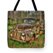 Caught Behind 1947 Ford Stakebed Pickup Truck Art Tote Bag