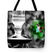 Caught In Action Tote Bag