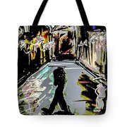 Caught In Rain Tote Bag