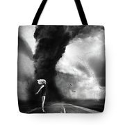 Caught In The Storm Tote Bag