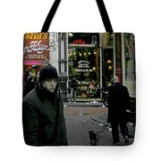 Caught Up Tote Bag