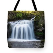Cauldron Falls,west Burton, North Yorkshire. Tote Bag