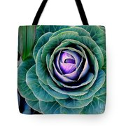 Cauliflower Abstract #6 Tote Bag