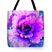 Cauliflower Abstract #8 Tote Bag