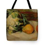 Cauliflower And Pomegranates Tote Bag