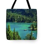 Caumasee Lake Switzerland Tote Bag