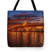 Causeway Sunrise Tote Bag