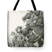 Cavalry Charge Tote Bag