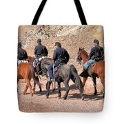 Cavalry Rides Tote Bag