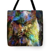 Cave Cat Tote Bag