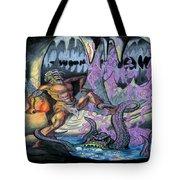 Cave Creature Tote Bag