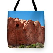 Cave Formation Arches National Park Tote Bag
