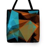 Cave Polygon Pattern Tote Bag