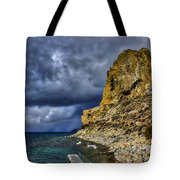 Cave Rock Color Tote Bag