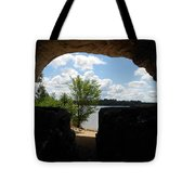 Cave With A View. Tote Bag