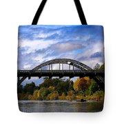 Caveman Bridge Tote Bag