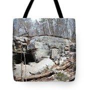 Caves At Lake Guntersville Tote Bag