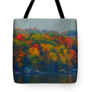 Cayuga Autumn Tote Bag