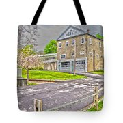 Cayuga Rail Crossing Tote Bag
