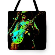 Cdb Winterland 12-13-75 #4 Enhanced In Cosmicolors Tote Bag