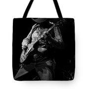 Cdb Winterland 12-13-75 #51 Enhanced Bw Tote Bag