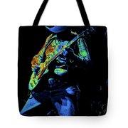 Cdb Winterland 12-13-75 #51 Enhanced In Cosmicolors #1 Tote Bag