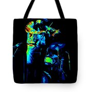Cdb Winterland 12-13-75 #7 Enhanced In Cosmicolors Tote Bag