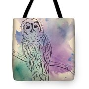 Cecil The Sad Owl Tote Bag
