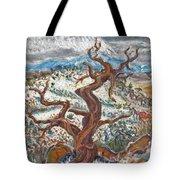 Cedar And Singing Bird Tote Bag