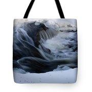 Cedar Creek During Winter Tote Bag