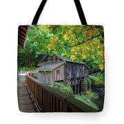 Cedar Creek Grist Mill Tote Bag