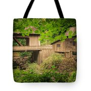 Cedar Creek Mill And Covered Bridge Tote Bag
