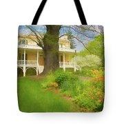 Cedar Grove In Spring Tote Bag