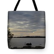 Cedar Key Moonrise Tote Bag