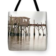 Cedar Key Structure Tote Bag by Patrick M Lynch