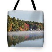 Cedar Lake Reflection Tote Bag