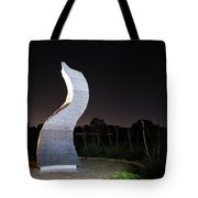 Cedar Park Sculpture Flame Tote Bag