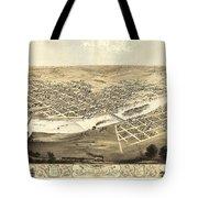 Cedar Rapids Iowa 1868 Tote Bag