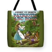 Cedric And Zeke's Abc Lesson Tote Bag