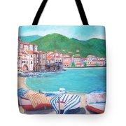 Cefalu In Sicily Tote Bag