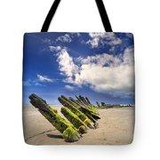 Cefn Sidan Beach 3 Tote Bag