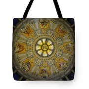 Ceiling Of The Berlin Cathedral Tote Bag