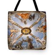 Ceiling Of The Chapel Of Eleonora Of Toledo Tote Bag