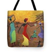 Celebrate Tote Bag by Judy M Watts-Rohanna