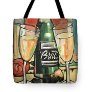 Celebrate With Bubbly Tote Bag