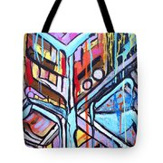 Celebrating The Future - Left Tote Bag