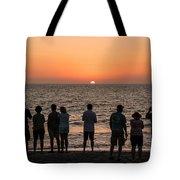 Celebrating The Sunset Tote Bag