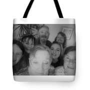 Celebrating With Friends Tote Bag