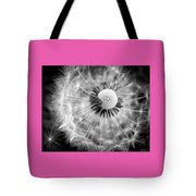Celebration Of Nature In Black And White Tote Bag