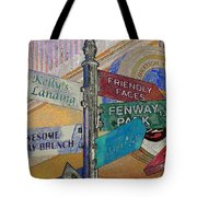 Celebration Town Directional Tote Bag
